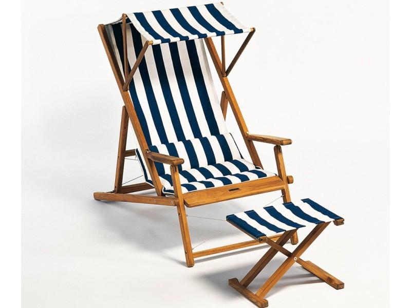Strandstoel Met Armleuning.Cabin Strandstoel De Luxe